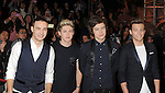 LOS ANGELES, CA - DECEMBER 20: Liam Payne, Niall Horan, Harry Styles and Louis Tomlinson of One Direction attend the FOX's 'The X Factor' Season Finale - Night 2 at CBS Televison City on December 20, 2012 in Los Angeles, California.