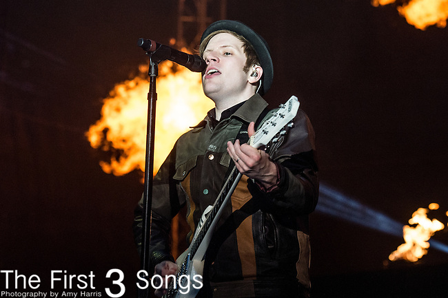 Patrick Stump of Fall Out Boy performs at the 2014 Bunbury Music Festival in Cincinnati, Ohio