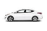 Car Driver side profile view of a 2015 Hyundai Elantra Sport 4 Door Sedan Side View