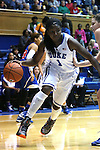 19 December 2014: Duke's Elizabeth Williams. The Duke University Blue Devils hosted the University of Massachusetts Lowell River Hawks at Cameron Indoor Stadium in Durham, North Carolina in a 2014-15 NCAA Division I Women's Basketball game. Duke won the game 95-48.