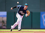 Reno Aces&rsquo; Jack Reinheimer makes a play at Greater Nevada Field in Reno, Nev., on Sunday, July 17, 2016.<br /> Photo by Cathleen Allison