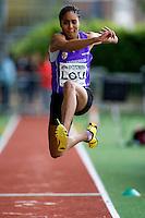 17 MAY 2009 - LOUGHBOROUGH,GBR - Denae Matthew - Womens Triple Jump - Loughborough International Athletics .(PHOTO (C) NIGEL FARROW)