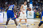Real Madrid Facundo Campazzo and Khimki Moscow Charles Jenkins during Turkish Airlines Euroleague match between Real Madrid and Khimki Moscow at Wizink Center in Madrid, Spain. November 02, 2017. (ALTERPHOTOS/Borja B.Hojas)