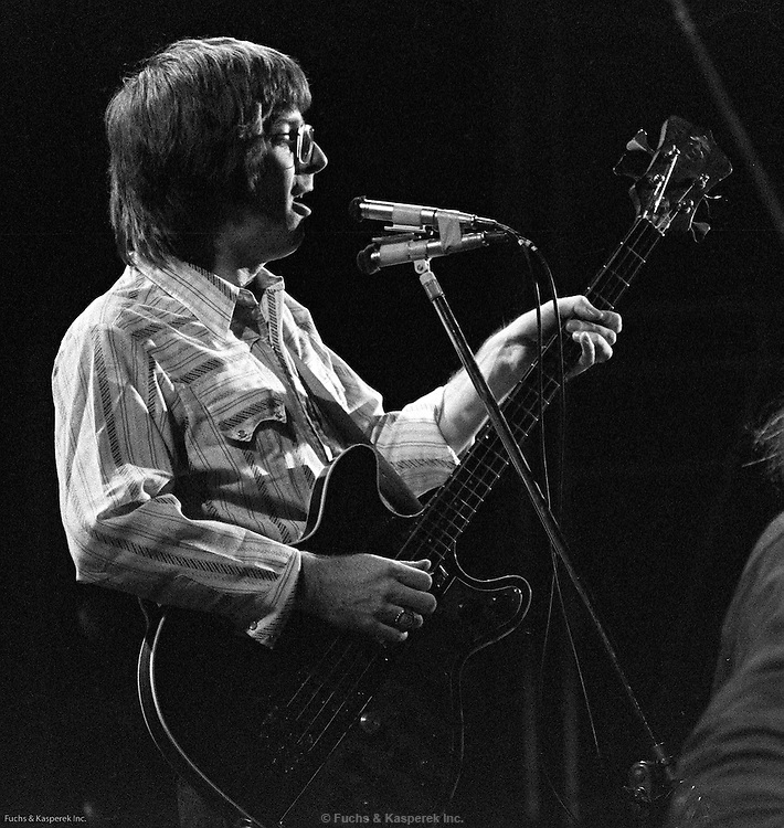 Phil Lesh performs with the Grateful Dead at a concert in St. Louis in 1973