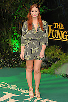 "Arielle Free<br /> European premiere of ""The Jungle Book"" <br /> BFI IMAX, London"