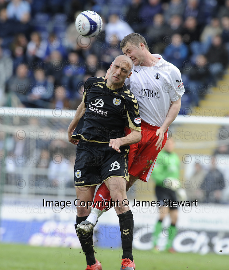 01/05/2010   Copyright  Pic : James Stewart.sct_jsp04_falkirk_v_st-mirren  .::  THOMAS SCOBBIE GETS ABOVE BILLY MEHMET ::  .James Stewart Photography 19 Carronlea Drive, Falkirk. FK2 8DN      Vat Reg No. 607 6932 25.Telephone      : +44 (0)1324 570291 .Mobile              : +44 (0)7721 416997.E-mail  :  jim@jspa.co.uk.If you require further information then contact Jim Stewart on any of the numbers above.........