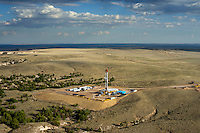 Fracking drilling rig.  Northern Colorado. Sept 2012