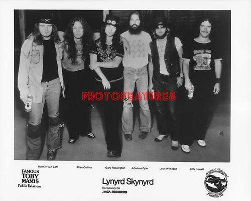 Lynyrd Skynyrd..photo from promoarchive.com/ Photofeatures....