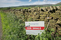Not For Shale sign at Bleasedale, Preston, Lancashire.