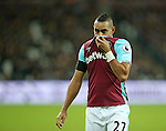 West Ham's Dimitri Payet looks on dejected during the Premier League match at the London Stadium, London. Picture date December 3rd, 2016 Pic David Klein/Sportimage