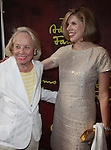 "Liz Smith & Christine Baranski.attending the Broadway Opening Night performance of ""The Addams Family"" at the Lunt-Fontanne Theatre in New York City..April 8, 2010.© Walter McBride / ."