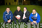 INVITE: Richard O'Donoghue, Charlie Farrelly, Martina O'Donoghue and Johnny O'Callaghan from Cordal Community Centre who are inviting people to view their new floodlit Astroturf pitch this Friday evening.   Copyright Kerry's Eye 2008