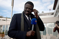 31st March 2020, France; It has been announced that Pape Diouf, ex-President of League 1 football club in France has died from Covid-19 Coroma Virus.   Pape Diouf - candidata in the election for municipale de Marseille 2014