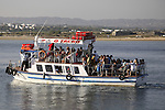 Ferry to Tavira Island - Formosa Estuary National Park, Algarve, Portugal