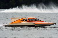 s48.S-48, 2.5 Litre Stock class hydroplane.Syracuse Hydrofest, Onondaga Lake, Syracuse, NY.20/21 June, 2009, Dayton, OH USA..©F. Peirce Williams 2009 USA.F.Peirce Williams.photography.ref: RAW (.NEF) File Available