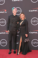 10 July 2019 - Los Angeles, California -  Tyler Blevins, Ninja, Jessica Blevins. The 2019 ESPY Awards held at Microsoft Theater. Photo Credit: PMA/AdMedia