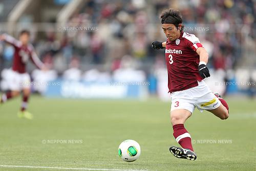 Takahito Soma (Vissel),.APRIL 21, 2013 - Football / Soccer :.2013 J.League Division 2 match between Yokohama FC 1-2 Vissel Kobe at Nippatsu Mitsuzawa Stadium in Kanagawa, Japan. (Photo by Kenzaburo Matsuoka/AFLO)