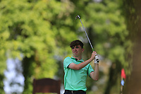 Simon Walker (Roscommon) during the final round of the Connacht Boys Amateur Championship, Oughterard Golf Club, Oughterard, Co. Galway, Ireland. 05/07/2019<br /> Picture: Golffile | Fran Caffrey<br /> <br /> <br /> All photo usage must carry mandatory copyright credit (© Golffile | Fran Caffrey)
