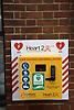 Defibrillator, Norwich UK Aug 2019