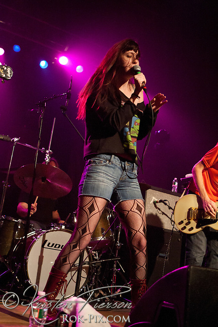 Sleeper Agent perform at Lupo's in Providence on March 1, 2012