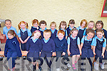 Scoil Na?isiunta Gleann Beithe had 17 new juniors start school last week pictured front l-r; Aine Brennan, Charlotte Baggett, Keilen O'Sullivan, Jamie O'Sullivan, O?rla Burke, Lea Morris, Kacey O'Connor, back l-r; Robert Balagh, Kayla Sheehan, Grace O'Sullivan, Brian Cahill, Chloe Teahan, Robyn Griffin, Gra?inne Sweeney, Mia McDonogh, Me?abh Scannell & E?adaoin O'Sullivan.