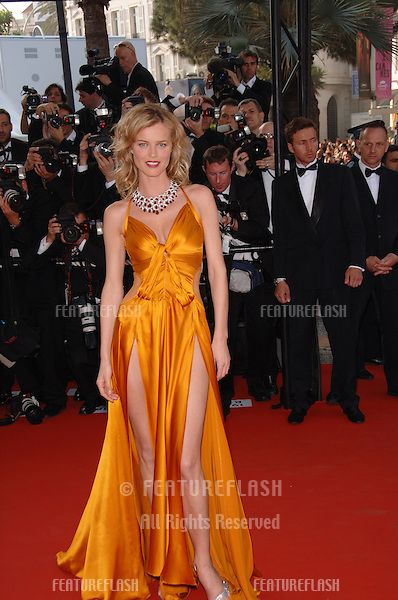 "Supermodel EVA HERZIGOVA at the gala screening of ""The Da Vinci Code"" at the 59th Annual International Film Festival de Cannes..May 17, 2006  Cannes, France..© 2006 Paul Smith / Featureflash"
