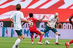 Leandro Barreiro Martins (FSV Mainz 05 #35), Davy Klaassen (Werder Bremen #30)<br /> <br /> <br /> Sport: nphgm001: Fussball: 1. Bundesliga: Saison 19/20: 33. Spieltag: 1. FSV Mainz 05 vs SV Werder Bremen 20.06.2020<br /> <br /> Foto: gumzmedia/nordphoto/POOL <br /> <br /> DFL regulations prohibit any use of photographs as image sequences and/or quasi-video.<br /> EDITORIAL USE ONLY<br /> National and international News-Agencies OUT.