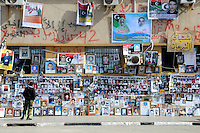 On a wall in Benghazi are posters and photos of missing people. On 17 February 2011 Libya saw the beginnings of a revolution against the 41 year regime of Col Muammar Gaddafi.