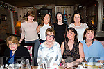 Girls night out at the Stone House on Thursday Pictured Front l-r Martha Slattery, Mary Griffin, Carol Dooley, Helena Foran, Ann Marie Mangan, Eileen Whelan, Barbara Liston, Geraldine Sheehy