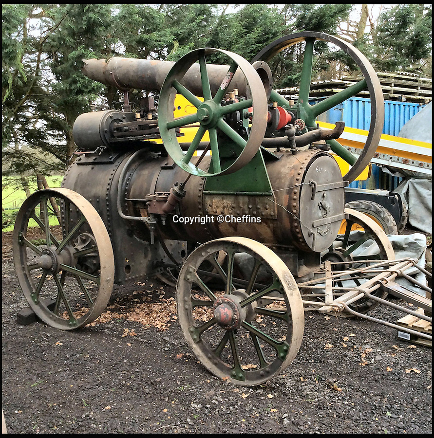 BNPS.co.uk (01202 558833)<br /> Pic: Cheffins/BNPS<br /> <br /> 1894 Aveling and Porter.<br /> <br /> A treasure trove of vintage tractors and steam engines collected by two enthusiasts have sold for a massive £1.5 million.<br /> <br /> John Keeley and his wife May amassed the hoard of rusty machines on their farm in Berkshire over a 40 year period.<br /> <br /> Their bizarre fleet included 50 vintage tractors and 15 steam engines and was so vast they were able to stage their own agricultural show that became a famous event.