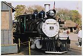 RGS #41 at Knotts Berry Farm depot.<br /> RGS  Buena Park, CA  Taken by Dorman, Richard L. - 2/15/2002