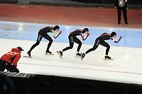 SPEEDSKATING: SALT LAKE CITY: 08-12-2017, Utah Olympic Oval, ISU World Cup, Team Pursuit Ladies, ©photo Martin de Jong
