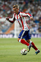Griezman of Atletico de Madrid during La Liga match between Real Madrid and Atletico de Madrid at Santiago Bernabeu stadium in Madrid, Spain. September 13, 2014. (ALTERPHOTOS/Caro Marin)