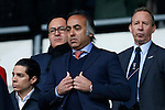 Forest owner Fawaz Al-Hasawi during the Skybet Championship match at the iPro Stadium. Photo credit should read: Philip Oldham/Sportimage