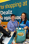 FREE PIC - NO REPRO FEE<br /> 24/09/2015 - Blackpool, Cork<br /> Sylvia Sorenson from Farranree making a purchase with the assistance of staff member Sarah McCarthy at the official opening of the new Dealz store at Blackpool Retail Park, Cork.<br /> Pic: Brian Lougheed