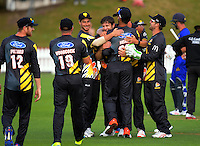 170103 McDonalds Super Smash T20 Cricket - Wellington Firebirds v Otago Volts