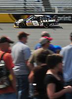 May 2, 2008; Richmond, VA, USA; NASCAR Sprint Cup Series driver Mark Martin during practice for the Dan Lowry 400 at the Richmond International Raceway. Mandatory Credit: Mark J. Rebilas-
