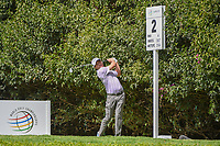 Kevin Kisner (USA) watches his tee shot on 2 during round 3 of the World Golf Championships, Mexico, Club De Golf Chapultepec, Mexico City, Mexico. 2/23/2019.<br /> Picture: Golffile | Ken Murray<br /> <br /> <br /> All photo usage must carry mandatory copyright credit (© Golffile | Ken Murray)