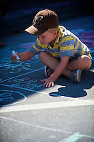 Annual Chalk Drawing Contest Arts Alive Festival Langley City
