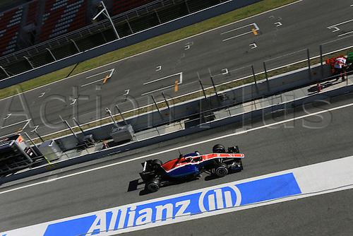 03.03.2016. Barcelona, Spain. Formula 1 Winter Testing at Circuit de Barcelona Catalunya Test 2 Day 3.  Manor Racing MRT05 – Pascal  Wehrlein