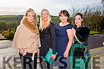 At the Annual Ladies Luncheon in aid of MS branch Tralee/West Kerry Branch at Ballyroe Heights Hotel on Sunday were l-r  Lisa Martin, Triona Bowler, Maria Maher and Jennifer Kissane