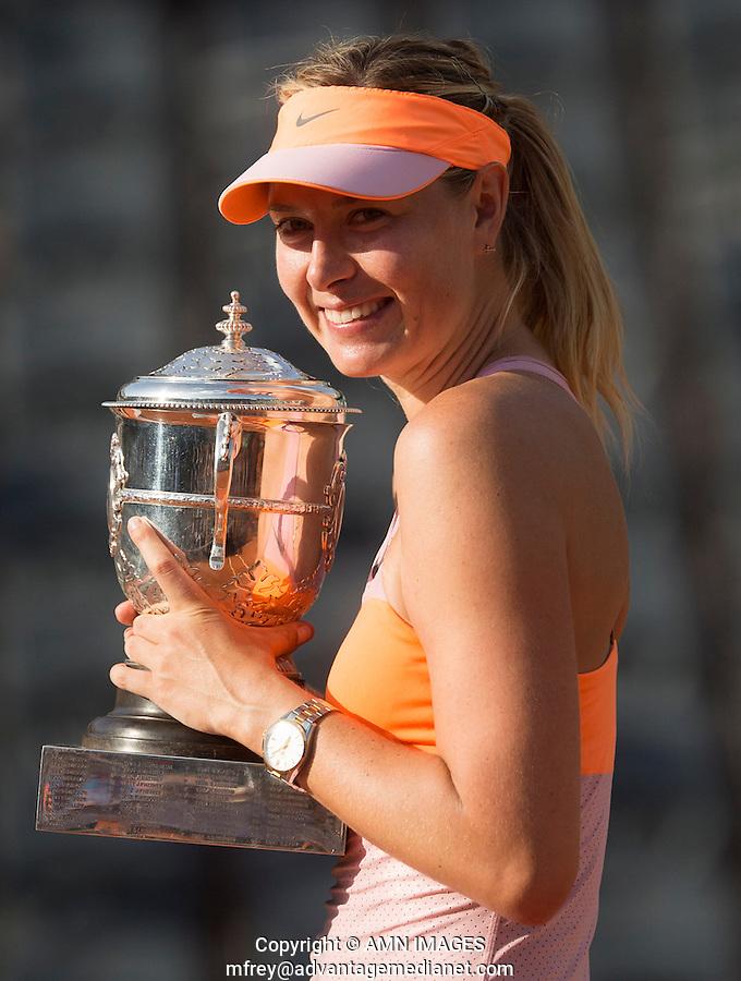 MARIA SHARAPOVA (RUS)<br /> <br /> Tennis - French Open 2014 -  Toland Garros - Paris -  ATP-WTA - ITF - 2014  - France <br /> 7th  June 2014. <br /> <br /> &copy; AMN IMAGES