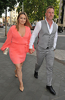 Ola Jordan and James Jordan at the Syco summer party, Victoria and Albert Museum, Cromwell Road, London, England, UK, on Thursday 04th July 2019.<br /> CAP/CAN<br /> ©CAN/Capital Pictures