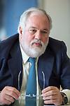 Miguel Arias Cañete Arias, EU Commissioner for Energy and Climate Action, photographed in Euroepan Commission in Berlaymont, Bruselas. Photo Delmi Alvarez.