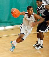 April 9, 2011 - Hampton, VA. USA;  Dominic Artis participates in the 2011 Elite Youth Basketball League at the Boo Williams Sports Complex. Photo/Andrew Shurtleff