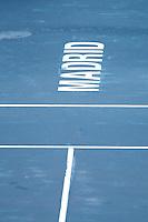 08.05.2012. Madrid, Spain, ATP Mens Madrid Open Tennis Tournament. Match played between Novak Djokovic (SRB) vs Daniel GimenoTraver (SPA) Picture show  during match.