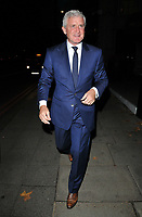 Mark Hughes at the Legends of Football 23rd annual football awards gala 2018, Grosvenor House Hotel, Park Lane, London, England, UK, on Monday 08 October 2018.<br /> CAP/CAN<br /> ©CAN/Capital Pictures