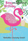 John, CHILDREN BOOKS, BIRTHDAY, GEBURTSTAG, CUMPLEAÑOS,flamingo,flamingos, paintings+++++,GBHSFBH-9020A-03,#bi#, EVERYDAY