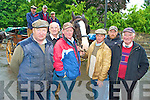 Killarney jarveys Denis Doona, Patrick O'Sullivan, Pat Joy, Paul Tangney, Jeremiah O'Shea, Martin McCarthy, Dan Ferris, Mike Joy and Billy Tangney who are anxious to resolve the dung catching device issue with the National Park Service..........