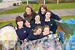 TOP OF THE CLASS: Students from Colaiste na Sceilge in Caherciveen who are representing Kerry at the Young Social Innovators Project in Dublin this week..Front L/r. Catherine O'Donoghue (Renard), Mia McKay (Caherciveen), Caroline Moriarty (Caherciveen)..Second Row L/r. Nasa Fitzpatrick (Waterville), Susan O'Connor (Aughatubrid), Chloe O'Sullivan (Renard). .Back L/r. Ms. Maire Teahan, Sarah Wharton (Caherciveen)   Copyright Kerry's Eye 2008